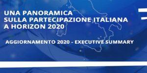 Partecipazione italiana Horizon 2020